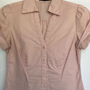 Limited Short sleeve fitted blouse